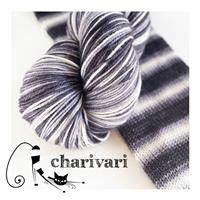 Bis-sock yarn Chouette self-striping hand-dyed yarn