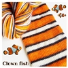 Bis Sock Clown Fish (Poisson Clown)
