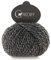 Classic Cardiff Cashmere 690 N. York (Black/White Tweed)