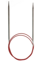 "Red Lace 40"" Circular Needle #6 (4mm)"