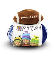 Top This! Football Blue/White (Discontinued) (Final Sale)