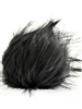 Furreal Vegan Fur Pom Pom 15 Creek Nutria