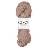 Kokon Fingering Weight Merino 100gr Clay