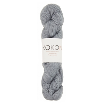 Kokon Fingering Weight Merino 100gr Oxidized