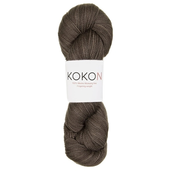 Kokon Fingering Weight Merino 100gr  Smoke