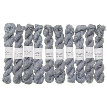 Kokon Fingering Weight Merino 10gr Cloud mini skein