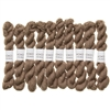 Kokon Fingering Weight Merino 10gr Dune mini skein