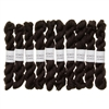 Kokon Fingering Weight Merino 10gr Night mini skein