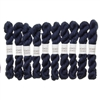 Kokon Fingering Weight Merino 10gr Sea mini skein