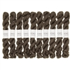 Kokon Fingering Weight Merino 10gr Smoke mini skein