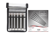 "Karbonz 6"" Double Pointed Needle Set"