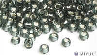 Miyuki 6/0 Glass Beads 21 Silverlined Pewter 30gr