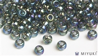 Miyuki 6/0 Glass Beads 249 Transparent Grey AB 30gr