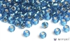 Miyuki 6/0 Glass Beads 25 Silverlined Capri Blue 30gr