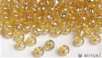 Miyuki 6/0 Glass Beads 251 Transparent Pale Gold AB 30gr