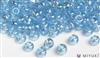 Miyuki 6/0 Glass Beads 260 Transparent Light Blue AB 30gr
