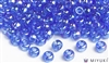 Miyuki 6/0 Glass Beads 261 Transparent Cornflower AB 30gr
