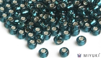 Miyuki 6/0 Glass Beads 30 Silverlined Dark Teal 30gr