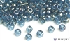 Miyuki 6/0 Glass Beads 305 Lake Blue Gold Luster 30gr