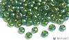Miyuki 6/0 Glass Beads 354 Chartreuse-lined Green AB 30gr