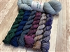 Marianated Yarns Cobblestone Cowl Kit: Stone Tavern Trail with Stone Basin