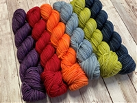Marianated Yarns Massallo Shawl Kit: Retail Therapy