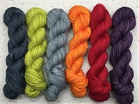 Scrumptious HT 1/2 Skein Gradients Retail Therapy