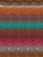Silk Garden Sock 418 Persian Orange