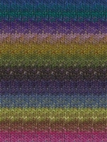 Silk Garden 301 Royal/Purple/Fuchsia/Lime (Discontinued)