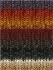Silk Garden 349 Burnt Orange/Wine/Greys/Taupe