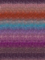 Silk Garden 357 Orange/Violet/Turquoise (Discontinued)