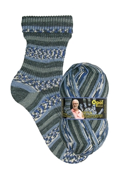 My Sock Design 9374 Baltic Sea Surf