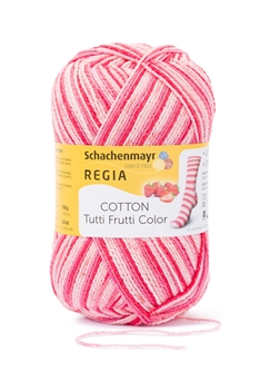Cotton Tutti Frutti Color 2420 Erdbeere