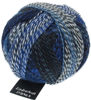 Zauberball Starke 6 2099 Blue Break