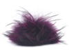 Raccoon Pom-Pom w/ Snap 010 Grape