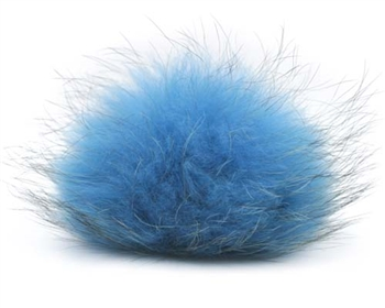 Raccoon Pom-Pom w/ Snap 012 Blue/Charcoal