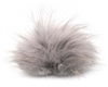 Raccoon Pom-Pom w/ Snap 117 Ice Grey