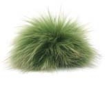 Raccoon Pom-Pom w/ Snap 153 Olive Charcoal