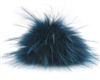 Raccoon Pom-Pom w/ Snap 155 Royal Blue