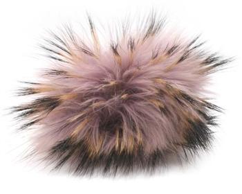 cede6b811 Detachable Racoon Fur Pom-Poms | Fur Pom Poms | Racoon PomPon 605 ...
