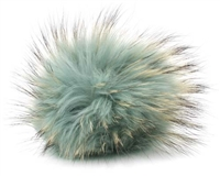 Raccoon Pom-Pom w/ Snap 603 Jade (Discontinued)
