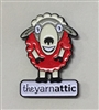 Enamel Pin: The Yarn Attic
