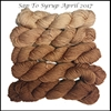 Mad Hatter Mini Skein Packs Sap To Syrup (Limited Edition April 2017)