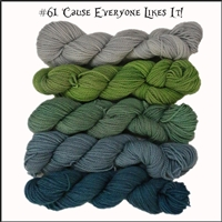 Mad Hatter Mini Skein Packs 61 'Cause Everyone Likes It!