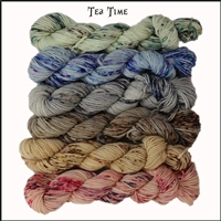 Mad Hatter Mini Skein Packs 102 Tea Time!