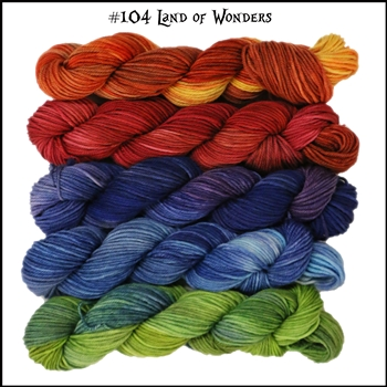 Mad Hatter Mini Skein Packs 104 Land of Wonders