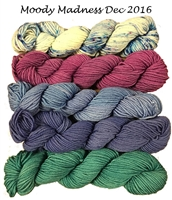 Mad Hatter Mini Skein Packs  Moody Madness (Limited Edition Dec 2016)
