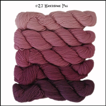 Mad Hatter Mini Skein Packs 27 Handsome Pig