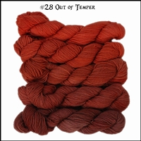 Mad Hatter Mini Skein Packs 28 Out of Temper
