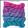 Mad Hatter Mini Skein Packs 31 Color Morph Fuchsia to Turquoise